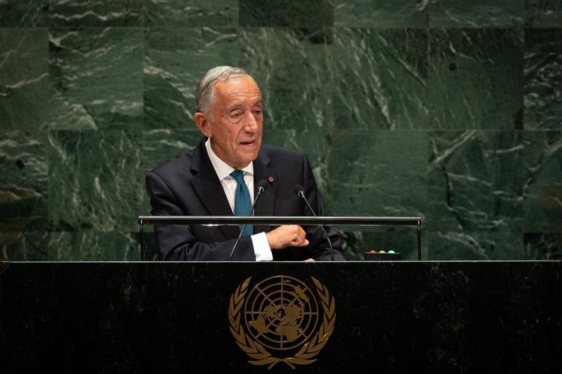 "<span class=""entry-title-primary"">Marcelo Rebelo apoia o multilateralismo de António Guterres</span> <span class=""entry-subtitle"">Mencionou o trabalho de Portugal na área da migração e refugiados</span>"