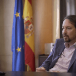 """Pablo Iglesias: """"Los gobiernos de España y Portugal están llamados a entenderse y ser aliados en Europa"""""""