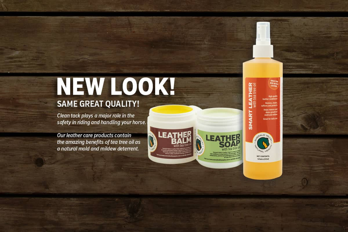 New Look for our leather care products!