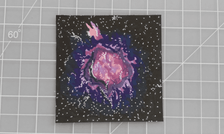 Cosmic Doodle: Coloring with Alcohol-Based Markers
