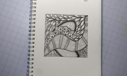 VIDEO: One Zentangle a Day – Day 32