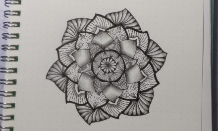 VIDEO: One Zentangle a Day – Day 33