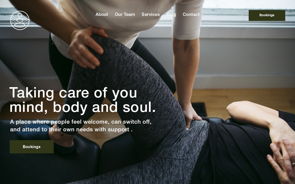 Websites for Chiropractors & Physios