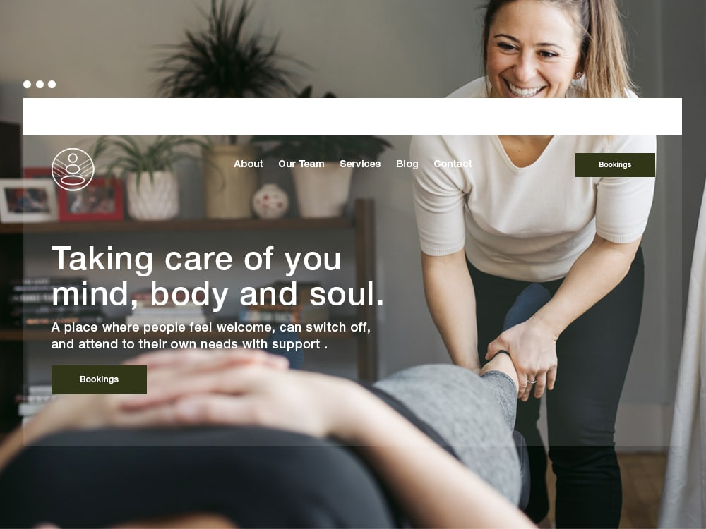 Websites for Chiropractors Physios