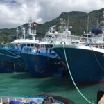 La flota de Opagac trabaja con Seychelles para asegurar la salud de las tripulaciones, tras los 59 casos positivos