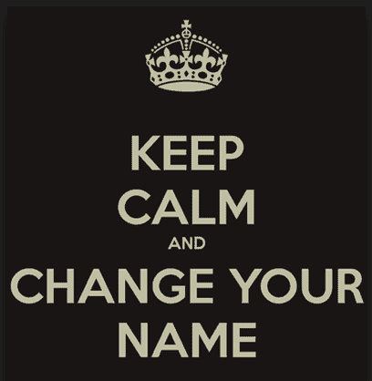 Steps On How to Change Your Name After Marriage