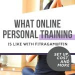 virtual personal training with fitragamuffin