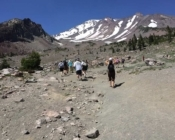 Mt Shasta hike
