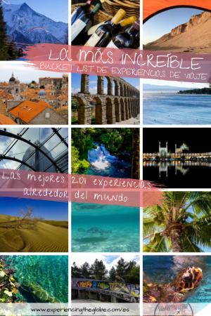 Bucket List de Experiencias de Viaje
