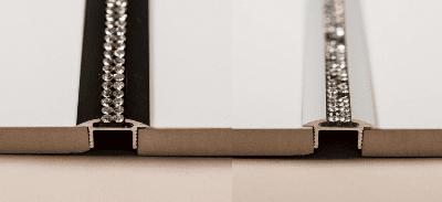 Seitenansicht mit Platten