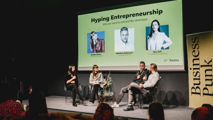 Photo from the Hyping Entrepreneurship event with Business Punk