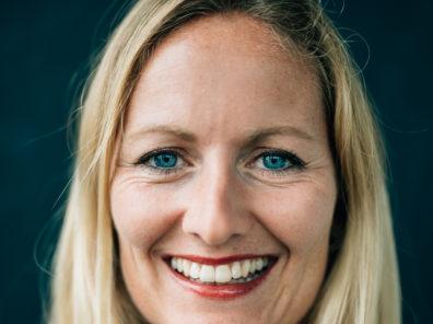 A photo of Katrin Bacic, Managing Director of Wayra Germany