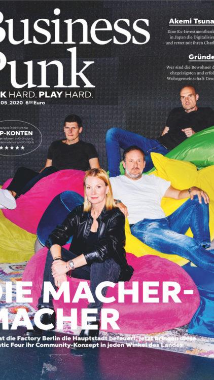 Business Punk Magazine: Factory Berlin. Photo by Frederike Wetzels