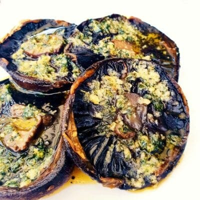 Roasted Mushrooms with Garlic Butter
