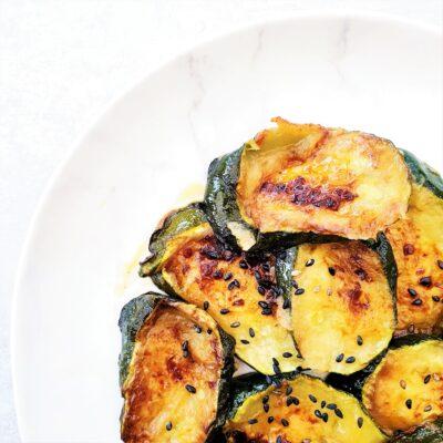 Ginger & Chilli Courgettes (Zucchini)