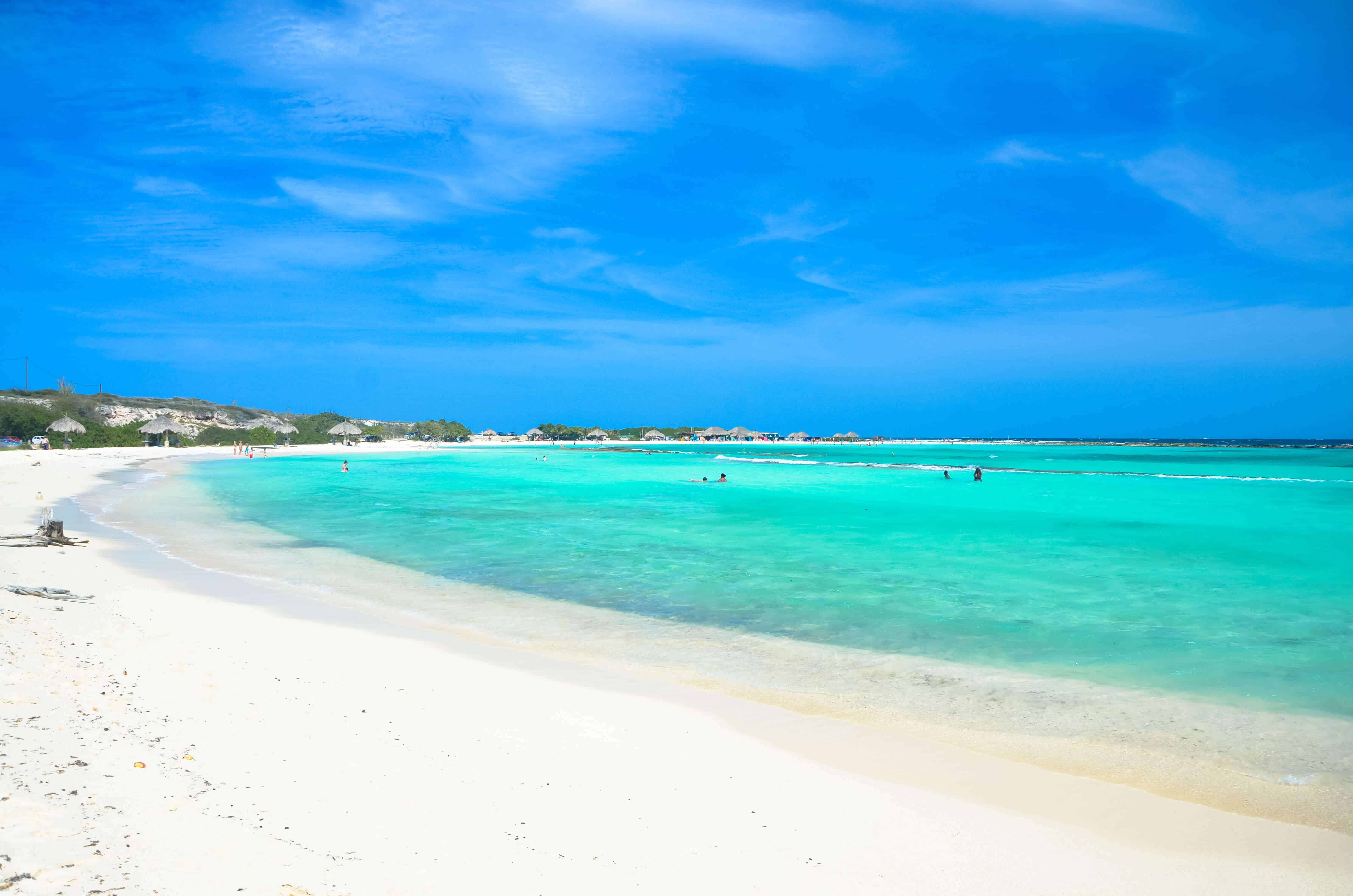 In The South Of Aruba There Is A Beach Called Baby