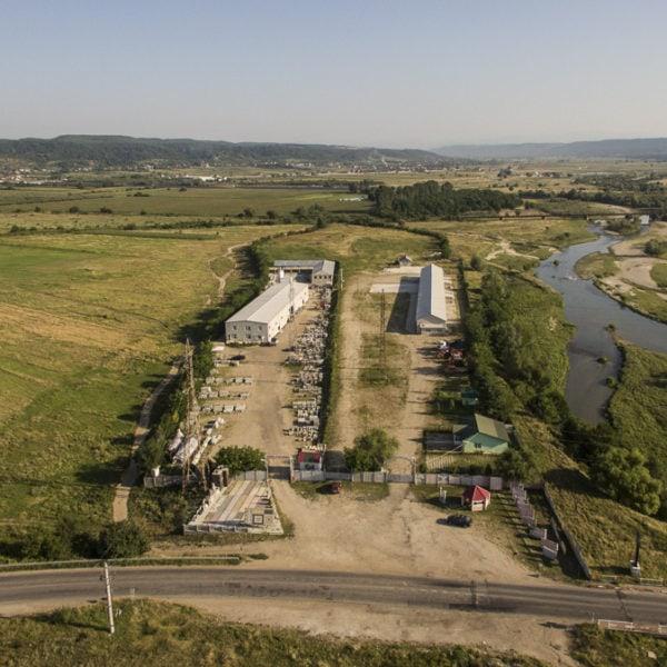 Fotografiere din drona: Proiect: fabrica de vanzare