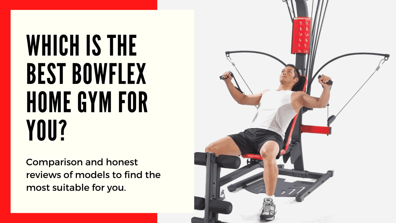 best Bowflex machines