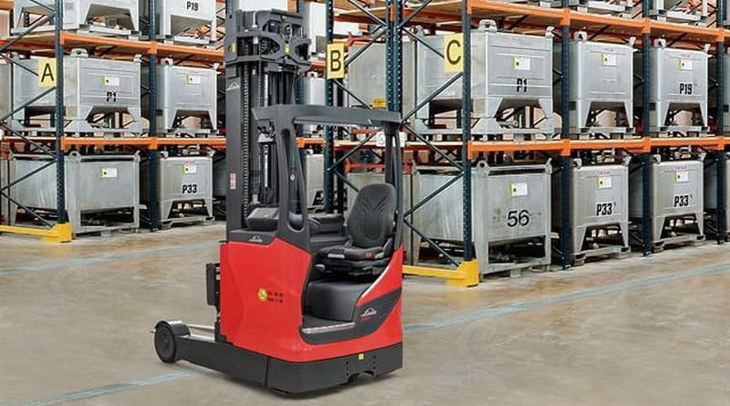 Linde Adds Explosion-Proof Reach Trucks