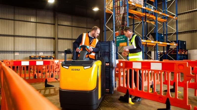 Firms potentially wasting £1,000s on lift truck training according to RTITB