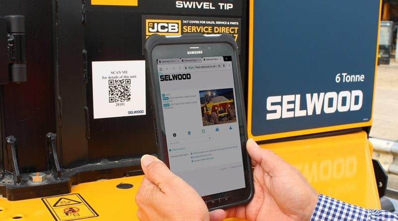 Selwood uses QR codes for fleet management