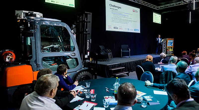 Communication is key at the National Forklift Safety Convention 2019