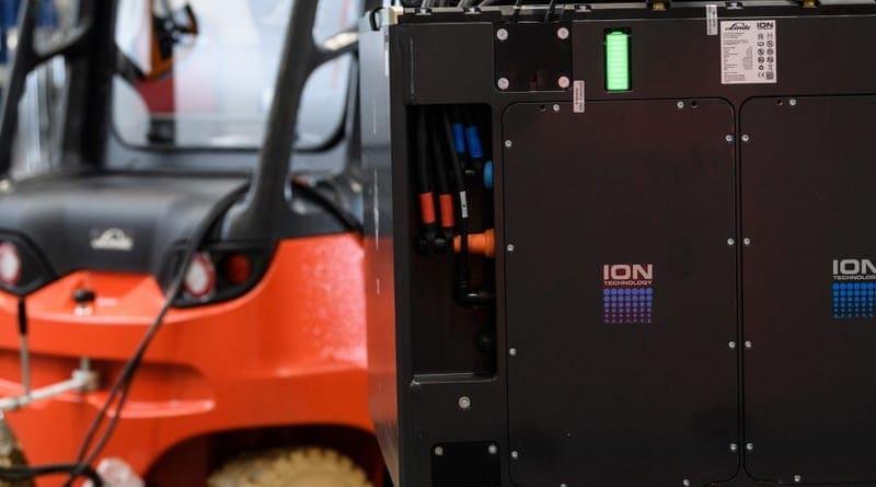 Linde Material Handling Expands Lithium-ion Portfolio