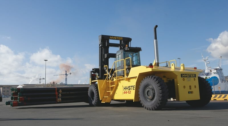 Hyster Promises Global Big Truck Productivity
