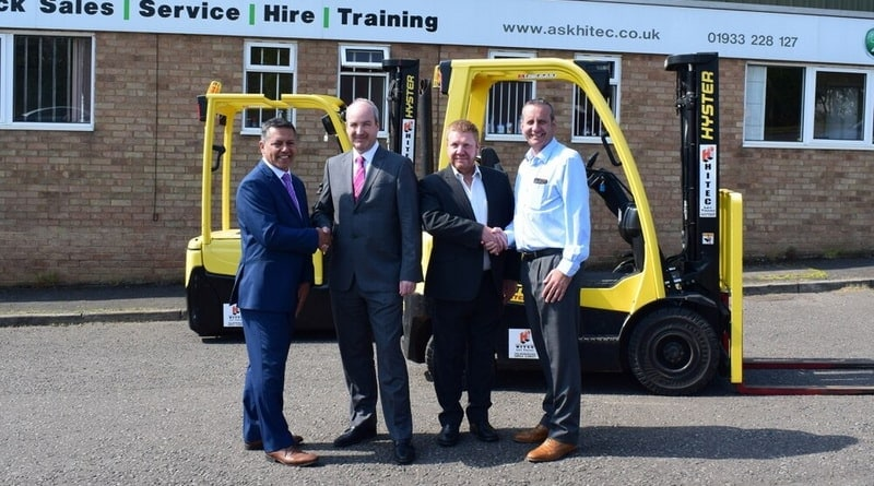 Hitec Lift Trucks Founder Retires