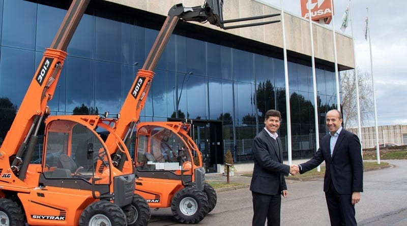 JLG to re-badge Spanish telehandlers