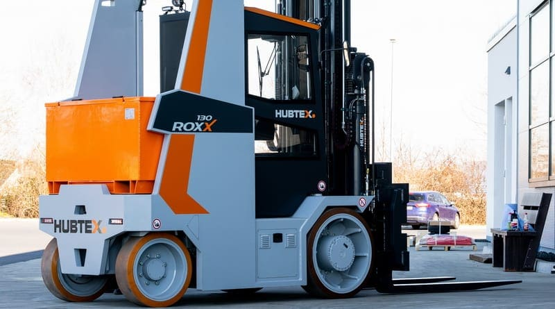 Hubtex Returns to Compact Forklift Market at LogiMAT
