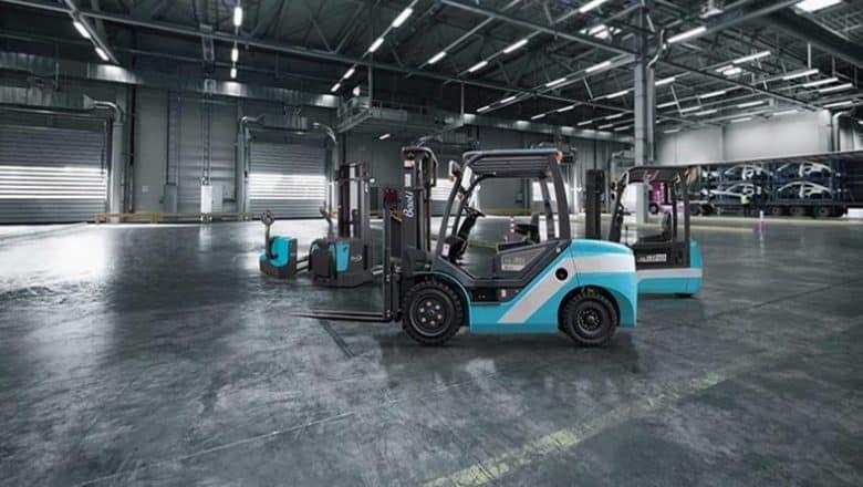 Baoli launches new fork lift trucks with EU5 compliant LPG engines