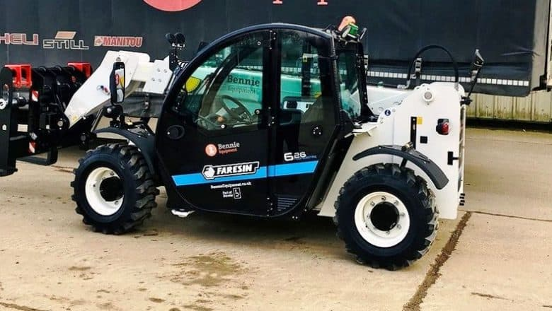 Bennie goes Italian for battery-powered telehandler