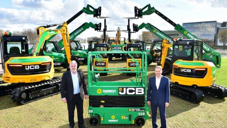 Sunbelt gives JCB its biggest ever UK order