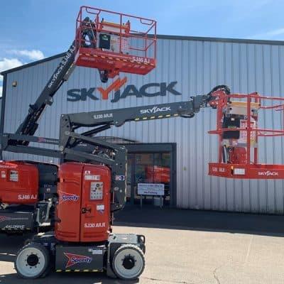 Speedy spends £3m on Skyjack lifts