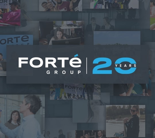 Happy Birthday to us! 20 Facts on Forte Group's 20th Anniversary
