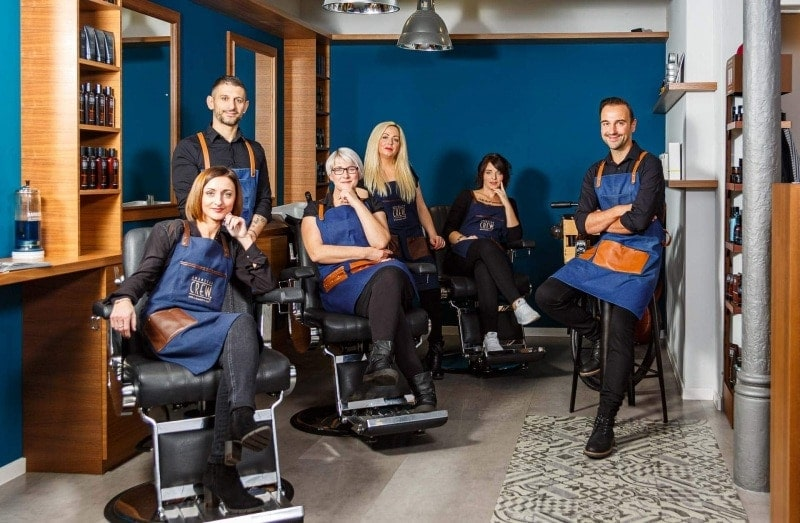 Fotoshooting The Barber 2019