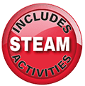 Foxton-Primary-Science-KS1 STEAM-Badge-small
