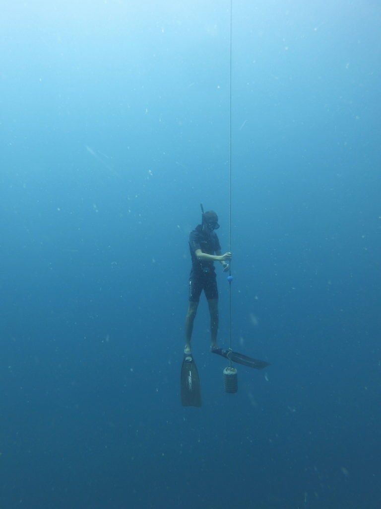 Depth buoyancy check