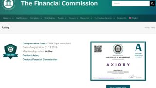 Axiory The Financial Commission