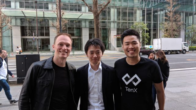 Me and TenX co-founders