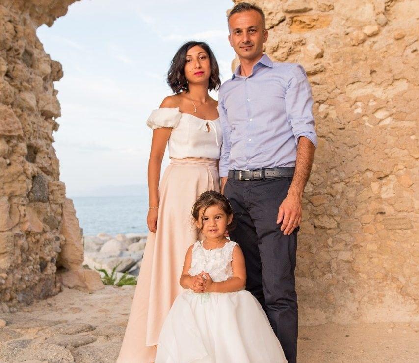 Bambina-Battesimo-Famiglia-39-854x740 Fotografo di Battesimo Cosenza Corigliano Rossano