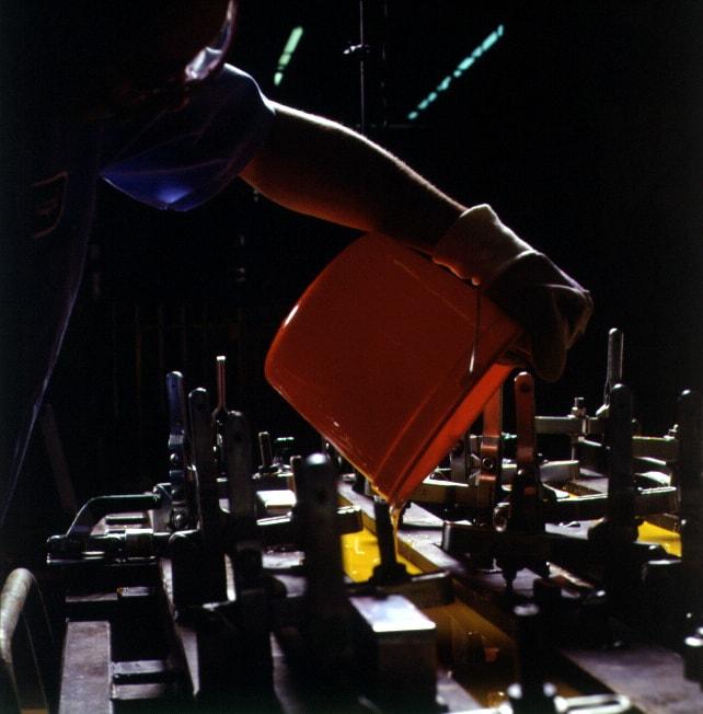 Pouring Cast Polyurethane