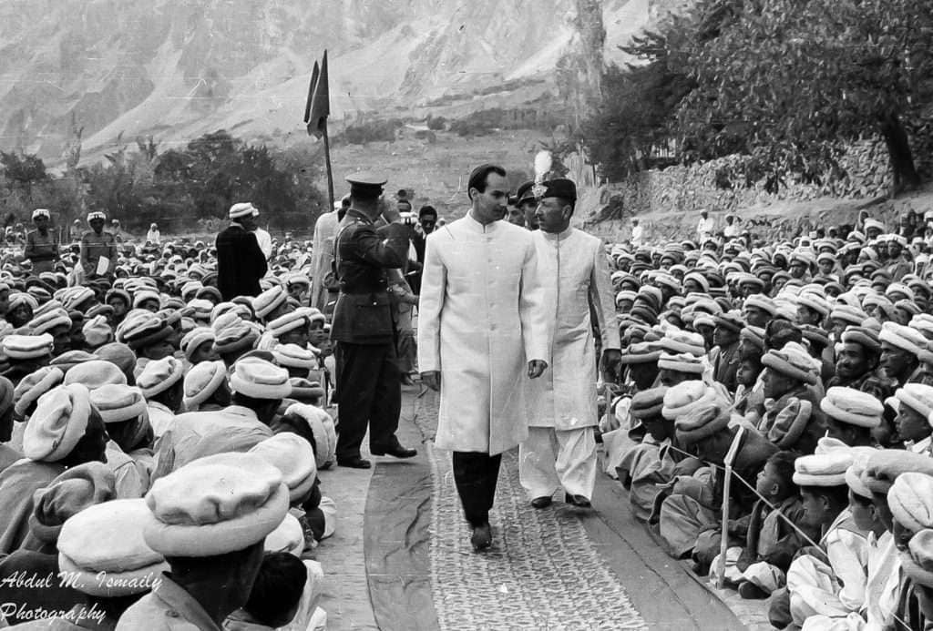 Aga Khan in Hunza 1960