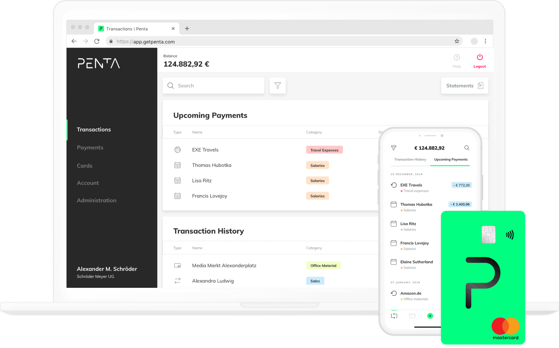 ▻▻ Online business bank account | Apply in 10 min  | Penta