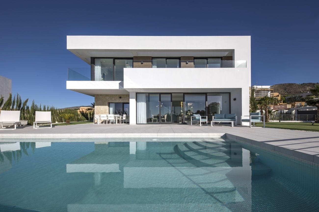 Aquamarine Golf – Villas en Finestrat de obra nueva