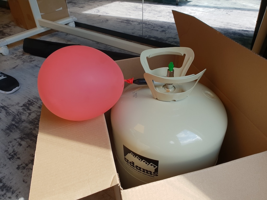 Helium is cool. Especially when it comes out of the canister