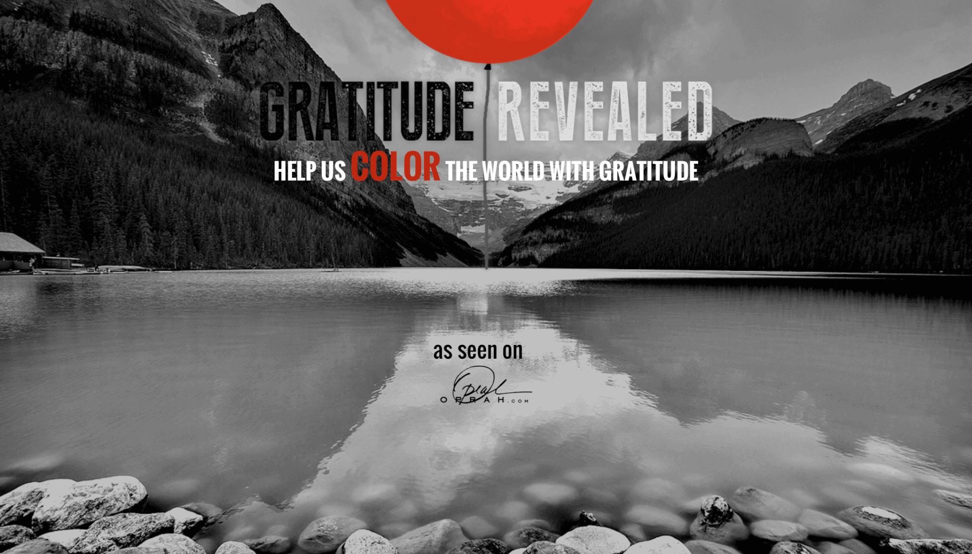 Gratitude Revealed Home
