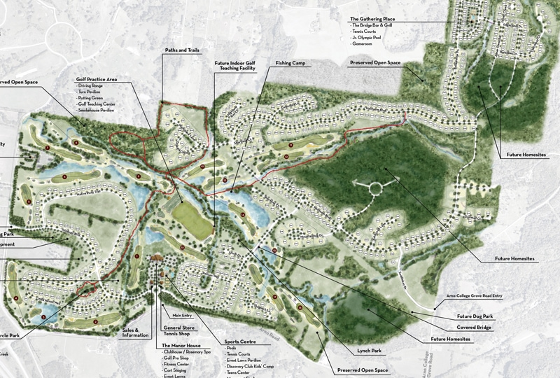 The Grove Living Sitemap