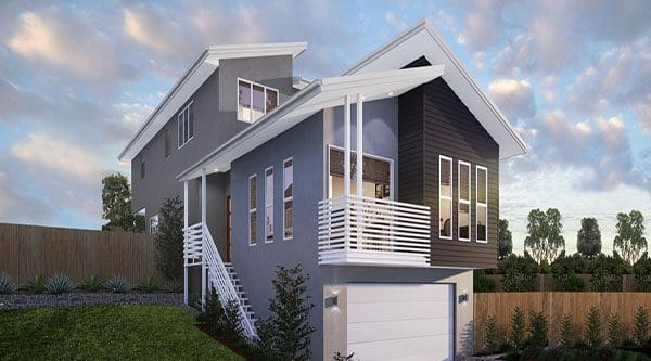 GW Homes - Sloping Block Homes
